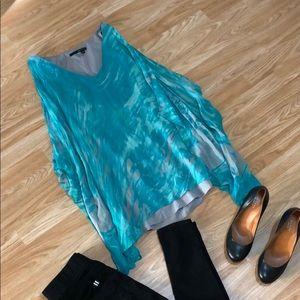 JAYGODFREY Silk Flowy Tunic